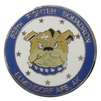 525 FS Custom Air Force Challenge Coin