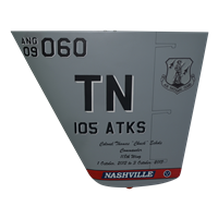 105 ATKS MQ-9 Reaper Custom Airplane Tail Flash