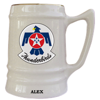 Custom USAFADS Thunderbirds Military Mugs