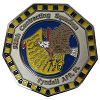 325 CONS Custom Air Force Challenge Coin