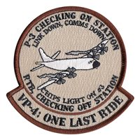 VP-4 One Last Ride Patch