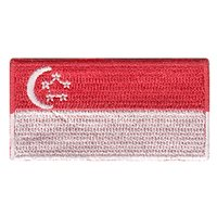 Singapore Flag Pencil Patch
