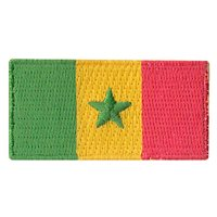 Senegal Flag Pencil Patch