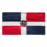 Dominican Republic Flag Pencil Patch