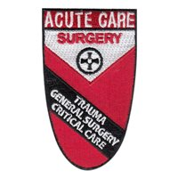 Kingsport Acute Care Surgery Red Border Patch