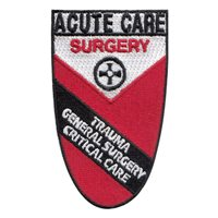 Kingsport Acute Care Surgery White Border Patch