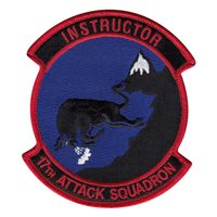 17 ATKS Instructor Patch