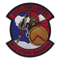 867 ATKS Dual Evaluator Patch