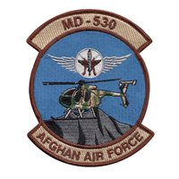 Afghan Air Force MD-530 patch