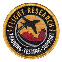 Flight Research Inc Mission Patch