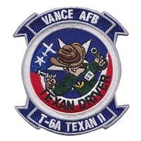 Vance T-6A Texan II Driver Patch