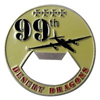 99 ERS Bottle Opener Challenge Coin