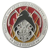 184 ATKS MQ-9 Reaper Challenge Coin