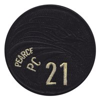 Pearce PC 21 Black and Gold Patch