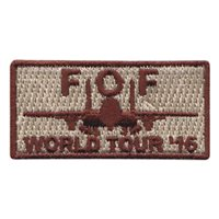 335 FS World Tour 2016 Pencil Patch