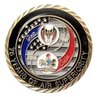 67 FS and 44 FS 75th Year Anniversary Coin