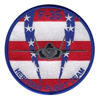 F-35 Heritage Flight Team Patch