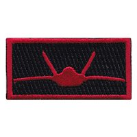 27 FS Black Pencil Patch