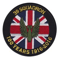 No. 39 Squadron RAF 100 Years Anniversary 2016 Patch