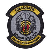 26 WPS Sensor Operator Patch with Leather