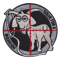 837 TRS International Force Protection Patch