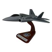 95 FS F-22 Custom Airplane Model