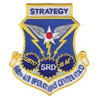 618 AOC Strategy Division Patch