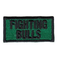 469 FTS Fighting Bulls Pencil Patch