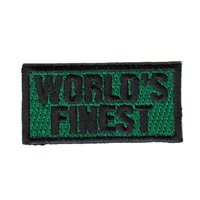 469 FTS World's Finest Pencil Patch