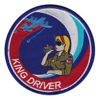 HC-130 Combat King Driver Woman Patch