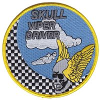 85 TES Skull Viper Driver Patch