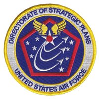 HQ USAF Directorate of Strategice Plans Patch