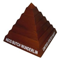 Pyramid Challenge Coin Holder