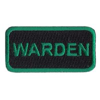962 AACS Warden Pencil Patch