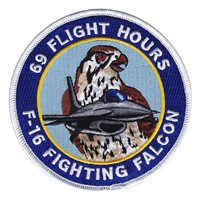 F-16 69 Hours Patch
