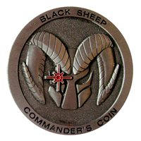 214 RG Commander Challenge Coin