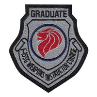 428 FS F-15SG Weapons Instructor Course Instructor Patch
