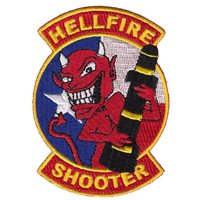 178 OSS Texas Hellfire Shooter Patch