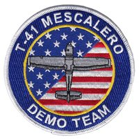 USAFA T-41 Mescalero Demo Team Patch