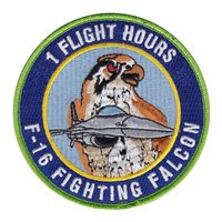 F-16 1 Hour Viper Driver Patch