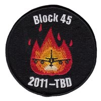 418 FLTS KC-135 Block 45 Patch