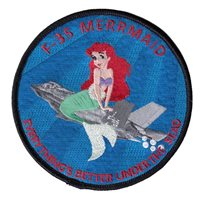 461 FLTS MERRMAID Patches