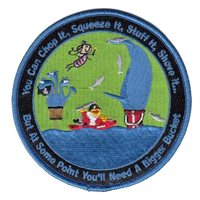 461 FLTS Whale Bucket Patch