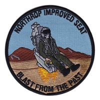 Northrop Grumman Blast From the Past Patch
