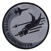 25 FTS T-38 Gray Shooter Talon Driver Patch