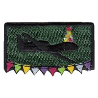 348 RS RQ-4 Party Hat Pencil Patch