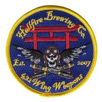 432 OSS Hellfire Brewing Friday Patch
