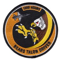 90 FTS 1000 Hour Patch