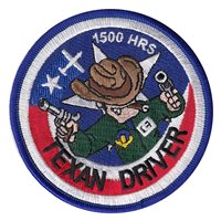 T-6A Texan Driver 1500 Hours Patch