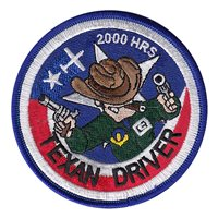 T-6A Texan Driver 2000 Hours Patch
